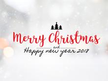 "Massage "" Merry Christmas And ..."