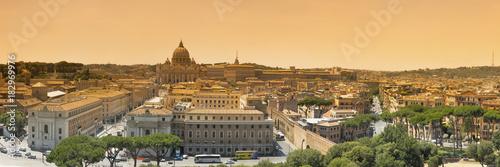 Zdjęcie XXL Panorama Rzymu