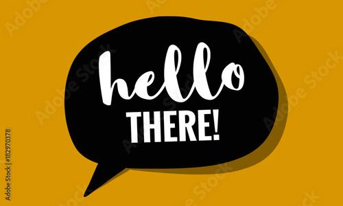 hello-there-in-speech-bubble-pop