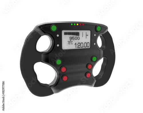 Foto op Plexiglas F1 steering wheel F1