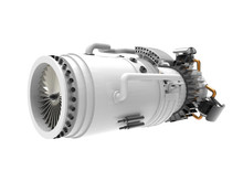 Jet Engine Inside. High Resolu...