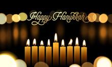 Happy Hanukkah Greeting Card O...