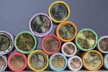 Münzrollen Euromünzen
