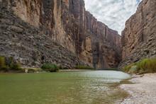 Rio Grande River At The Entran...