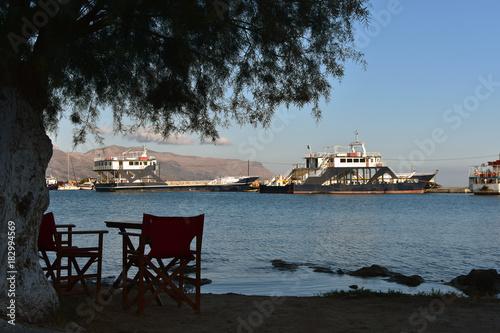 City on the water The port of Elafonisos, Elafonisos Island, Greece