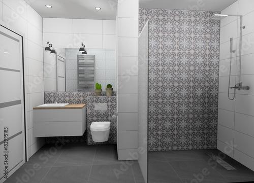 Fotografia  łazienka