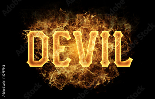 devil word text logo fire flames design buy this stock illustration and explore similar illustrations at adobe stock adobe stock devil word text logo fire flames design