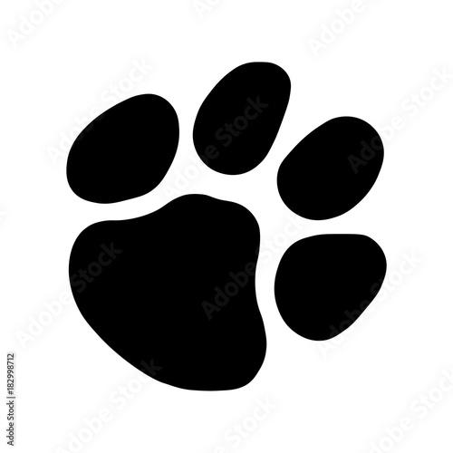 Obraz Cat Paw Footprint - fototapety do salonu