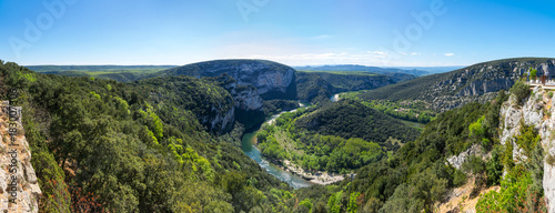 Cuadros en Lienzo View of Ardeche Gorges