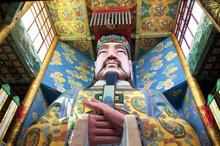 Taoist God In Lingxiao Palace Wuxi China