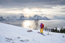Ski Touring In Northern Norway