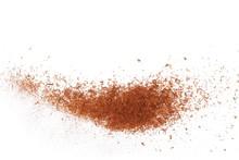 Pile Cinnamon Powder Isolated ...