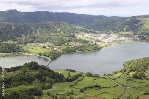 Fototapety, obrazy: Lagoa 7 cidades, São Miguel, Açores