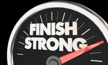 Finish Strong Speedometer Win ...