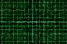 Green Digital Tile Backdrop