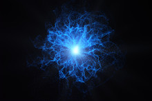 Glowing Plasma Background