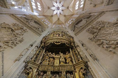 Retablo Catedral de Burgos