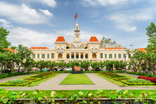 Scenic View Of The Ho Chi Minh City Hall, Vietnam