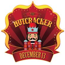 Christmas Nutcracker Retro Mar...