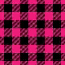 Lumberjack Plaid Pattern In Pi...