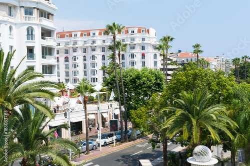 Photo The Boulevard de La Croisette in Cannes