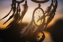 Dream Catcher In The Wind With...