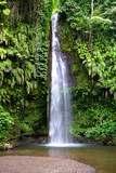magical waterfall in bali. indonesia - 183093956