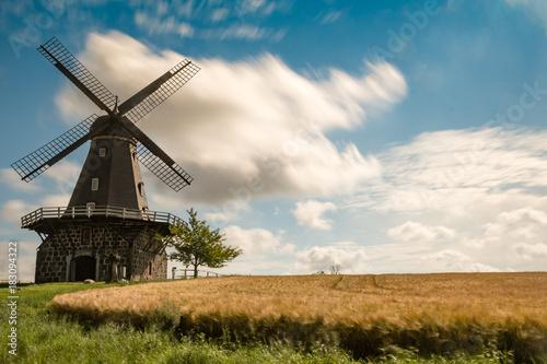 Aluminium Prints Mills Aggarps Kvarn - a Swedish mill
