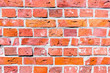 Eine Ziegelsteinwand