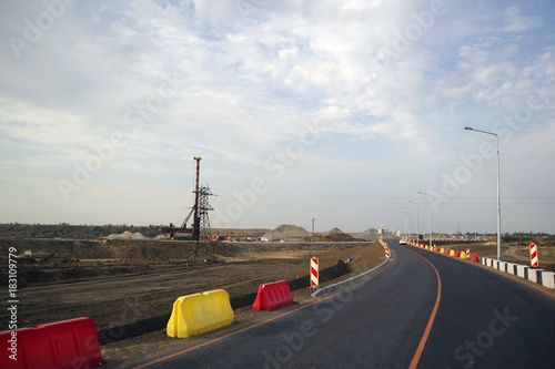 Papiers peints Scandinavie The construction of the interchange, Kerch