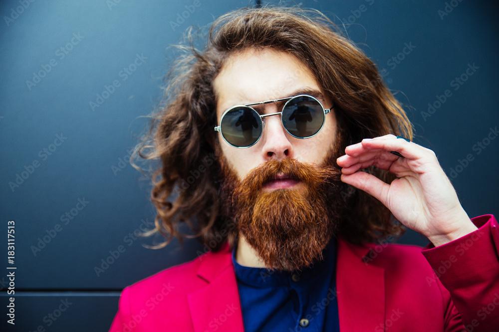 Fototapety, obrazy: Hipster man
