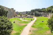 Medieval Large Moat Around T...