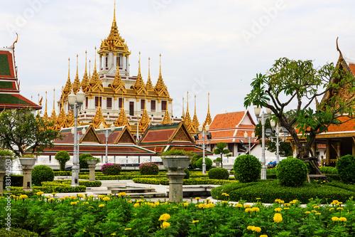 Wat Ratchanaddaram bangkok, Thailand. Poster