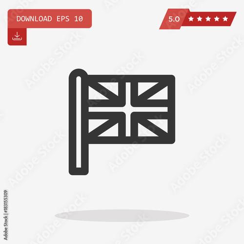 Poster  united kingdom vector icon