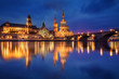 Dresden after sunset