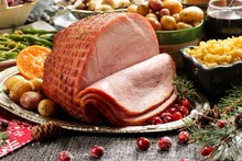 Holiday Baked Ham With Sides ...