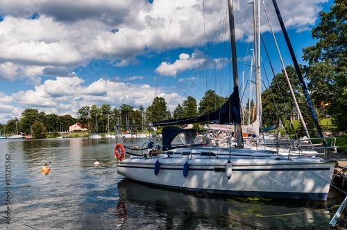 Segelboote auf der masurischen Seenplatte, Polen