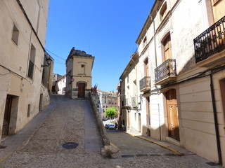 Fototapeta na wymiar Bocairent,municipio de la Comunidad Valenciana, España. Se sitúa en el extremo sur de la provincia de Valencia, en el Valle de Albaida