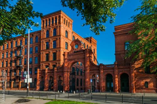 Altes Fabrikgebäude in Łódź; Polen
