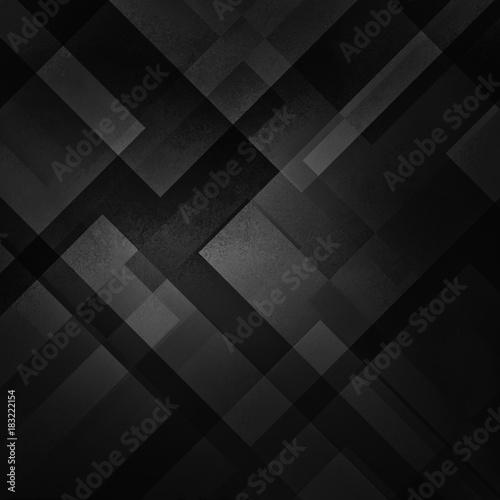 Fototapety czarne - bardzo ciemne geometria-w-czarnym-kolorze