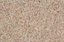Close Up Image Of A Pebble-dashed Wall