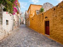 Traditional Village Aeropoli, Mani, Greece