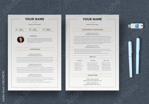 linear resume layout  buy this stock template and explore similar templates at adobe stock