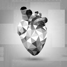 Metal Human Heart