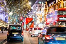 Oxford Street In Christmas Tim...