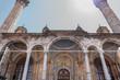 Ancient traditional Ottoman architecture Aziziye Mosque in Konya