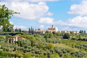 Fototapeta na wymiar Certosa Di Pontignano