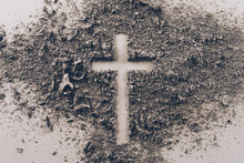 Top View Of Cross Shape From A...