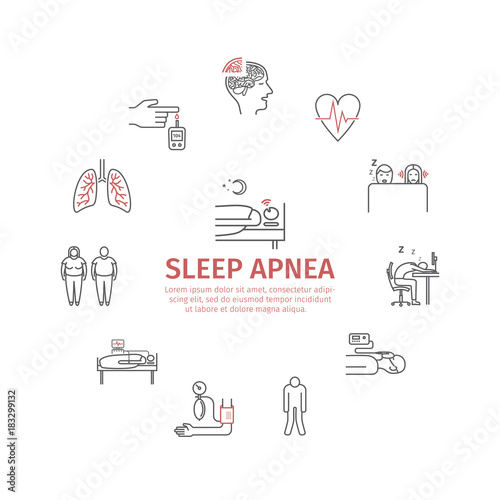 Photo Sleep Apnea round banner