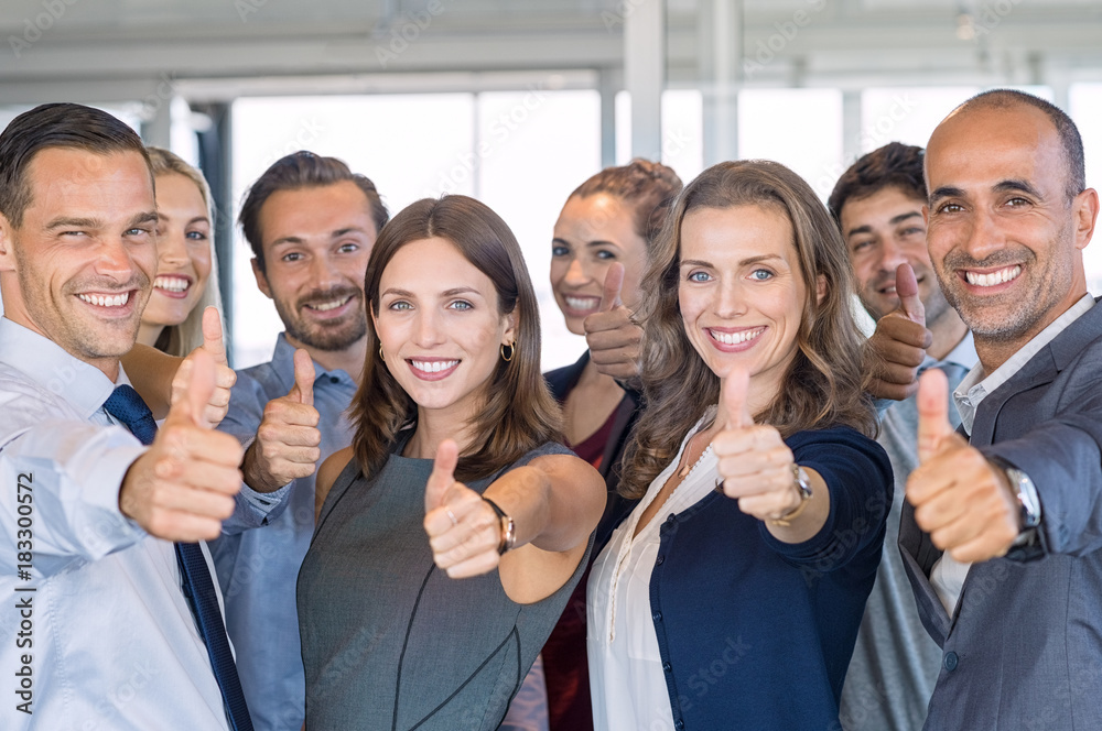 Fototapeta Successful business team